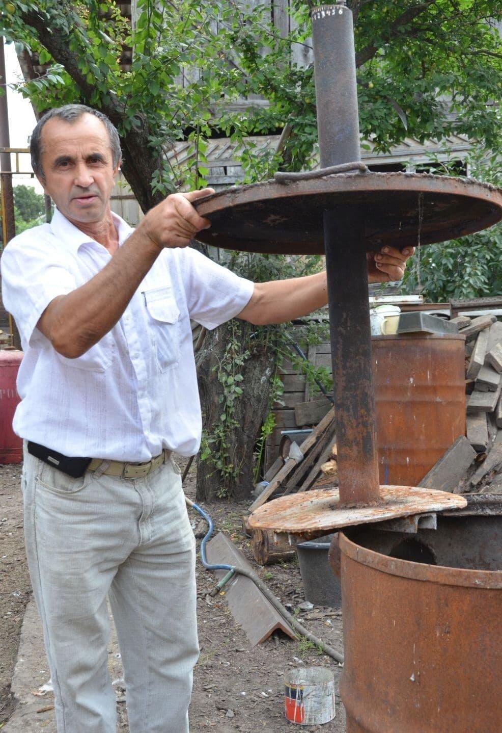 Печка из бочки для теплицы